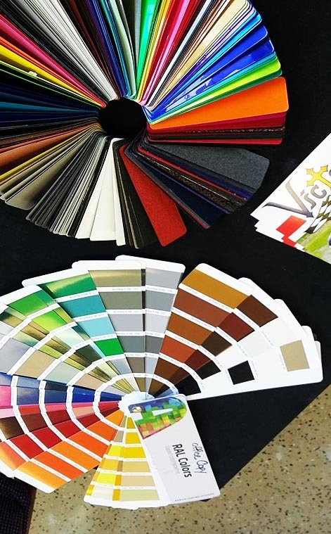 Colors | Victory Body & Paint Powder Coating